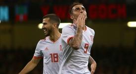 Alcácer mete un gol cada 25.5 minutos. AFP
