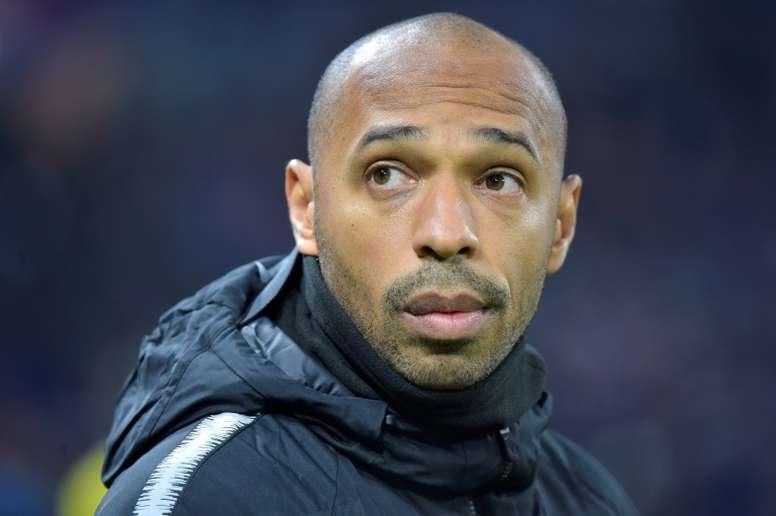 Henry foi a primeira opção para substituir Valverde. AFP