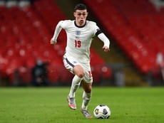 Foden scored two goals for England. AFP