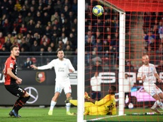 Strootman scored a late winner for Marseille to close the gap on PSG. AFP