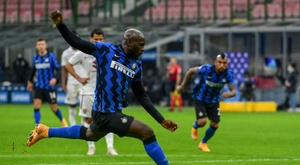 Sassuolo go top as Lukaku helps Inter fight back against Torino. AFP