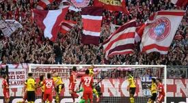 Los cuatro grandes de la Bundesliga, más que solidarios. AFP