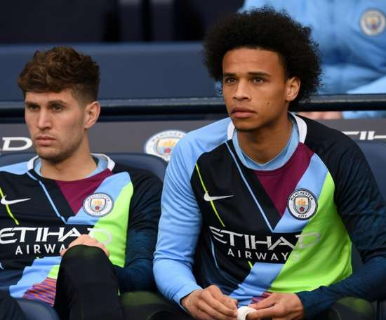 Leroy Sane was heavily linked with a move to Bayern this summer. AFP