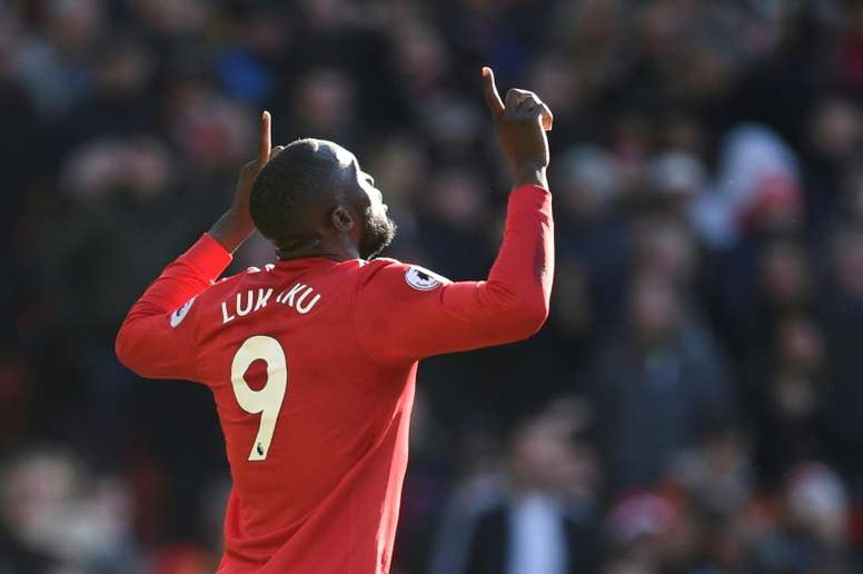 Lukaku has been struggling with an ankle problem of late. AFP
