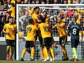 Wolves will be looking to continue their bright start to the Premier League season. AFP