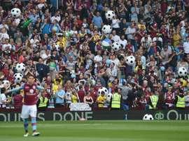 Un futur incertain pour Aston Villa. AFP