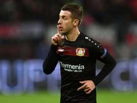 El Bayer Leverkusen ha caído derrotado en casa por el Ingolstadt. AFP/Archivo