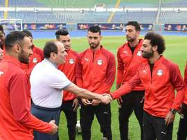 Salah returned for Egypt on Sunday. AFP