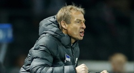 Jurgen Klinsmann could be fined if he does not show the DFL his coaching license. AFP