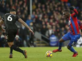 Benteke close to contract renewal with Crystal Palace. AFP