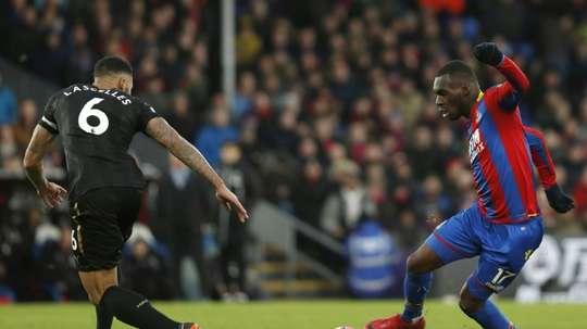 Benteke close to contract renewal with Crystal Palace. AFP
