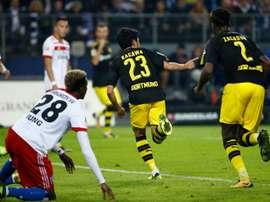 Shinji Kagawa fired his side to a victory against Hamburg SV. Goal