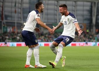 Una Serbia sin Jovic titular deja escapar a Portugal. AFP