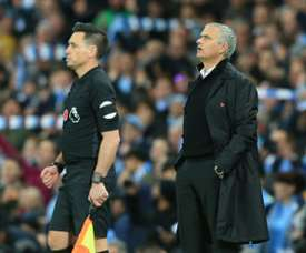 Mourinho has had a mixed start to the season. AFP