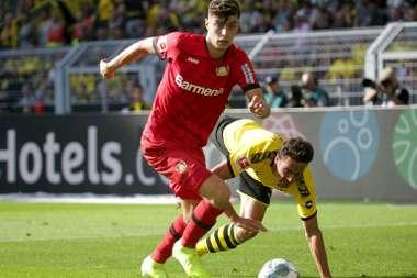 Havertz devrait prendre la direction du Bayern. AFP