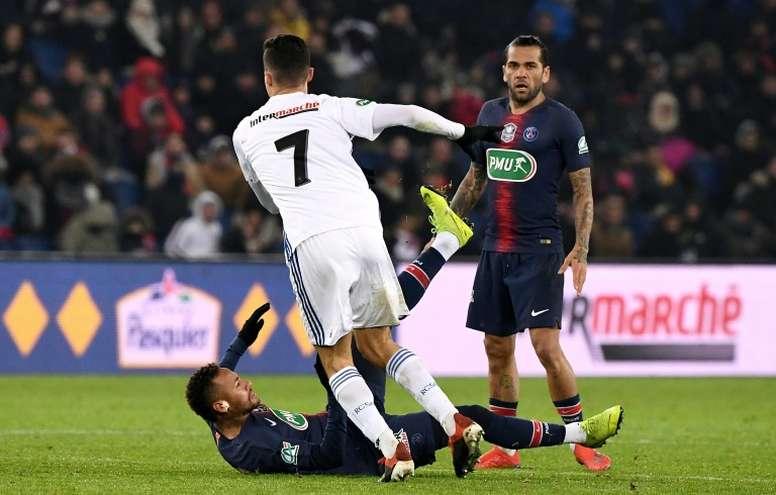 Anthony Gonçalves consideró a Neymar un provocador. AFP