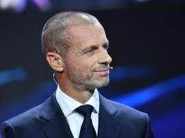 L'UEFA voie la Superligue Européenne comme dangereuse pour le football. AFP