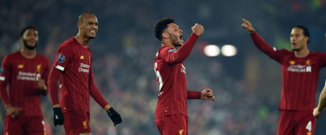 Oxlade-Chamberlain puts Liverpool on brink of Champions League knockouts. AFP