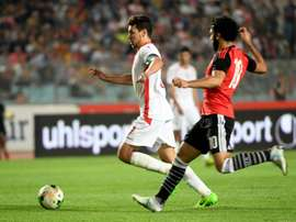Msakni has made 39 appearances for Tunisia. AFP