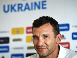 Andriy Shevchenko was Ukraines assistant coach during the recent Euro 2016 tournament in France.AFP