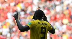 Lukaku has four goals at the World Cup so far. AFP