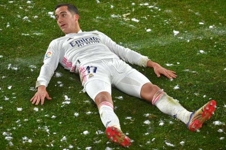 El Real Madrid, en guerra con LaLiga. AFP