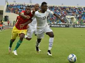 Abdul Rahman Baba will miss the rest of the tournament. AFP