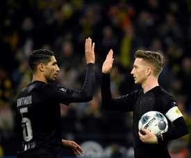 Et si Achraf restait à Dortmund ? AFP
