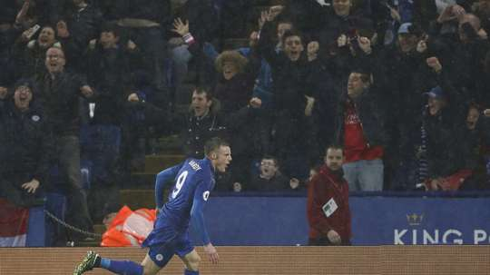 El Leicester mira al futuro. AFP