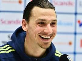 Zlatan scored a spectacular overhead kick in 2012. AFP