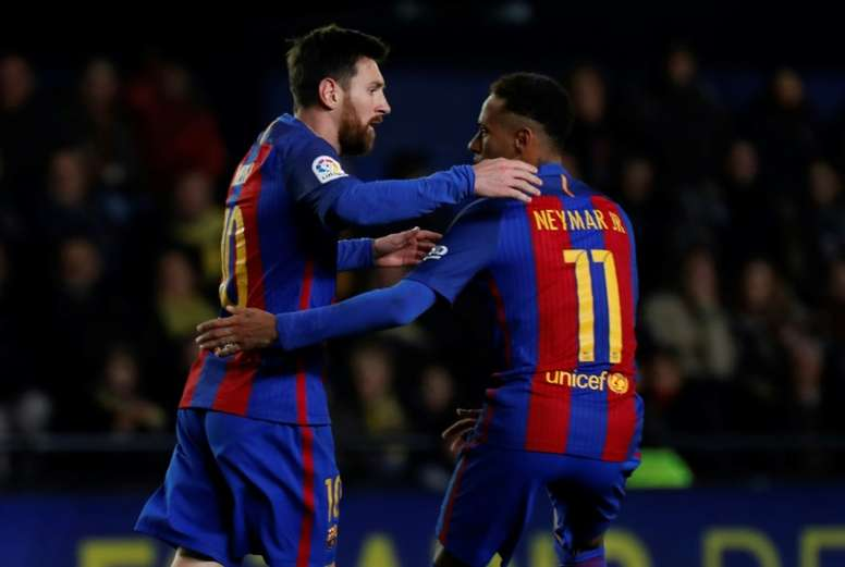 Messi wanted Neymar back in Barcelona. EFE