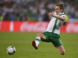 Kevin Doyle announced his immediate retirement from football on Thursday. AFP