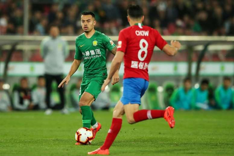 Former Arsenal youngster Yennaris is now representing China. AFP