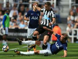 Tottenham e Newcastle vão defrontar-se esta noite. EFE