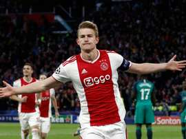 De Ligt will arrive in Turin on Tuesday night according to 'Sky Italia'. AFP