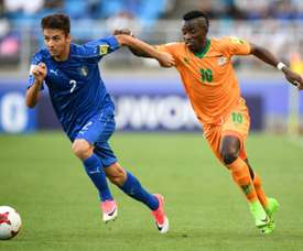 Fashion makes a statement with two goals for Zambia. AFP