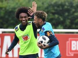 Neymar devrait rester sur le banc. AFP
