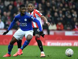 Iheanacho (L) was linked with a move to Turkey last year. AFP