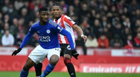 African players in Europe: Iheanacho wins cup tie for Leicester. AFP