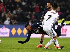 Neymar est source de désaccord. AFP