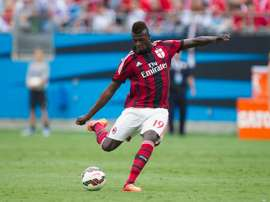 Niang cancelled his training due to psychological problems. AFP