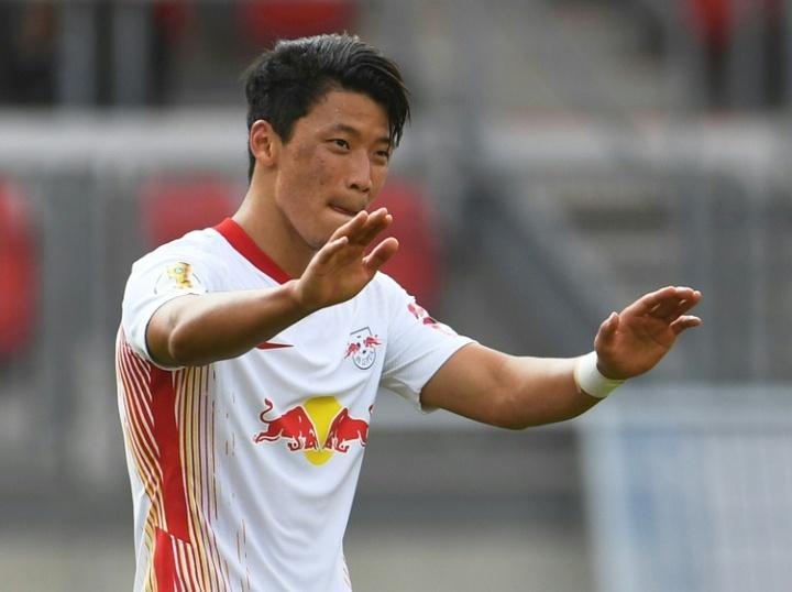 Hee-chan Hwang surveillé en Premier League. AFP