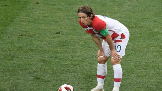 Modric has off-field issues. AFP