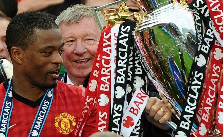Il gesto di Ferguson che permise allo United di vincere la Champions nel 2008. AFP