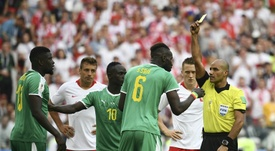 Senegal's defeat to Colombia dumped them out of the tournament. AFP