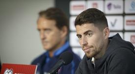 Pukki key threat to Italy's perfect euro run, says Jorginho. AFP