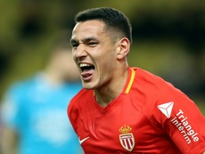 Lopes scored Monaco's second goal on Friday. AFP