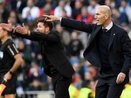 Un peu de répit pour Zidane. AFP