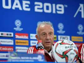 UAE coach aims to create history against the odds. AFP