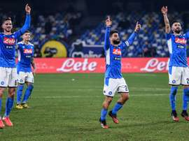Napoli warm-up for Barcelona with Brescia comeback win. AFP